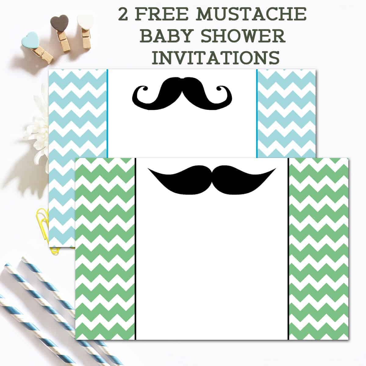 Free mustache baby shower invitations ilonas passion filmwisefo