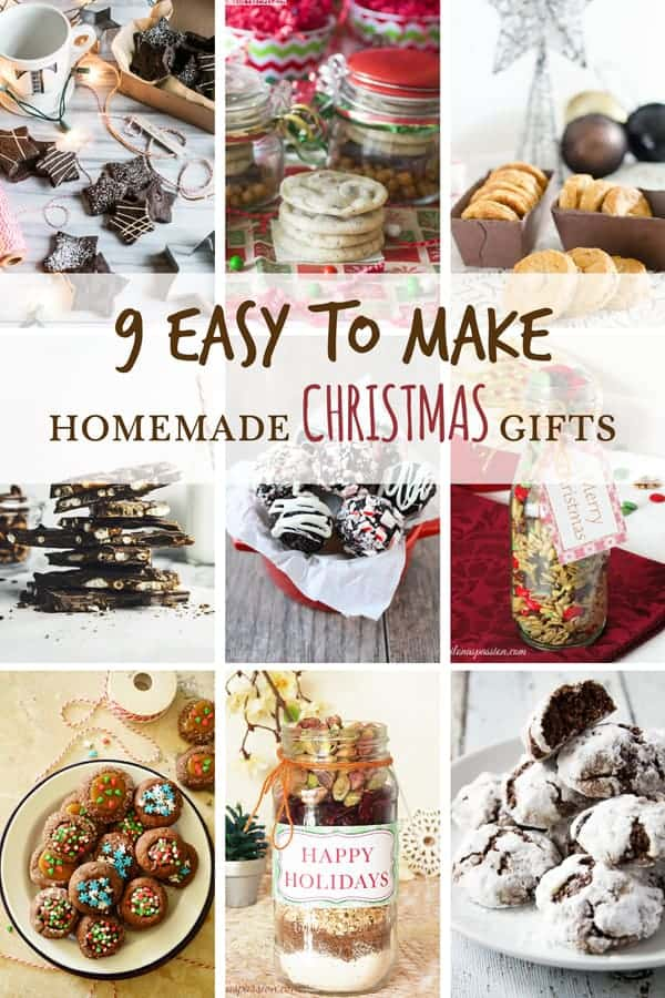 9 easy to make homemade christmas gifts ilona 39 s passion Unique christmas gifts for couples who have everything